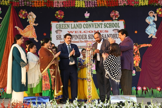 Activity at Green Land School